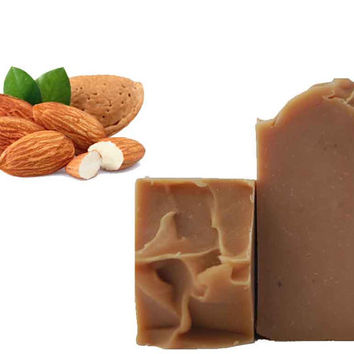 SALE Toasted Almond Handmade Soap - Vegan Soap - Essential Oil Soap - Natural Soap - Cold Process SLS Free Soap