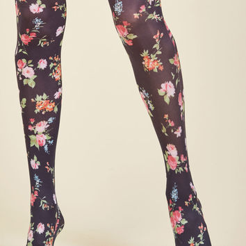 Botanical Brio Tights | Mod Retro Vintage Tights | ModCloth.com