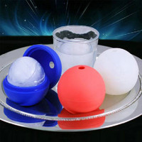 Silicone Ice Round Mold Ball Maker Mold Sphere Bar Tray