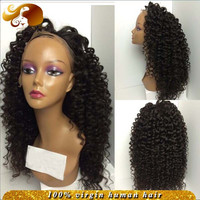 Freestyle Virgin Brazilian Hair Wig With Baby Hairs Glueless Full Lace Wigs Tight Kinky Curly Lace Front Human Hair Wigs Stock