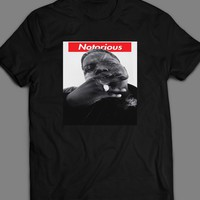 RAPPER NOTORIOUS BIG SUPREME STYLE T-SHIRT
