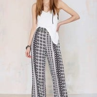 After Party Vintage Kaleidoscope Palazzo Pant