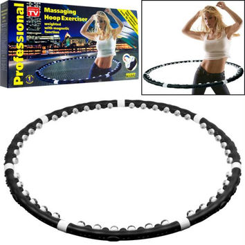 Acu-Hoop Pro Massaging Hoop Exerciser with Magnet