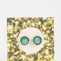 Circle Stone Gift Card Earring - Urban Outfitters