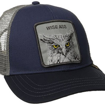 Goorin Bros. Men's X The Owl Hat, Navy, One Size