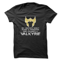 Trained Valkyrie