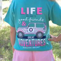 Good Friends & Great Adventures Tee | Jadelynn Brooke