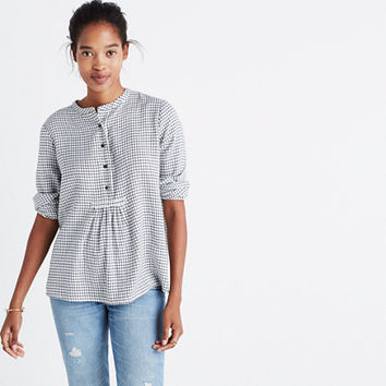 Market Popover Shirt in Malone Plaid