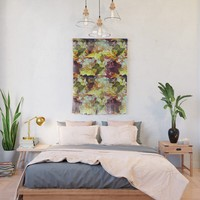 Graffiti Style - Marking on Colors Wall Hanging by gx9designs