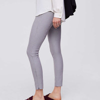 Leggings in Houndstooth Ankle Zip Bi-Stretch | LOFT