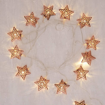Copper Star String Lights | Urban Outfitters