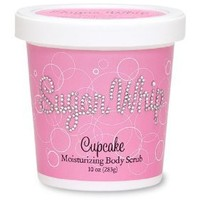 Primal Elements Cupcake Sugar Whip Moisturizing Body Scrub, 10-Ounce Package