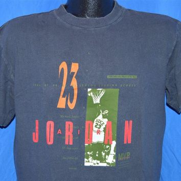 1988 Nike Michael Air Jordan Defensive Player of the Year t-shirt Large