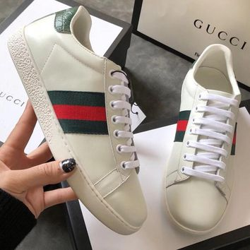 Gucci Women Fashion Casual Sneakers Sport Shoes-6