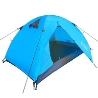 Ultra-light 1.8KG Double Layer Camping Canvas Tent 2 People Hiking Trekking Backpacking Fishing Tourist Barraca Carpas Tente