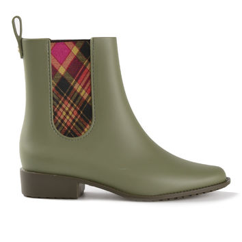 Vivienne Westwood Anglomania + Melissa / 'Riding' Boots Green