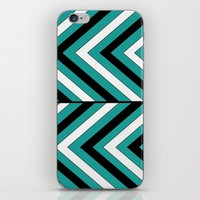 Pattern Turquoise 1 iPhone & iPod Skin by LouJah | Society6