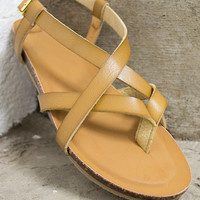 Sleek & Strappy Sandal Shoes