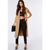 Sammie Pleated Waist Cigarette Trousers Black - Cigarette Trousers - Trousers - Missguided