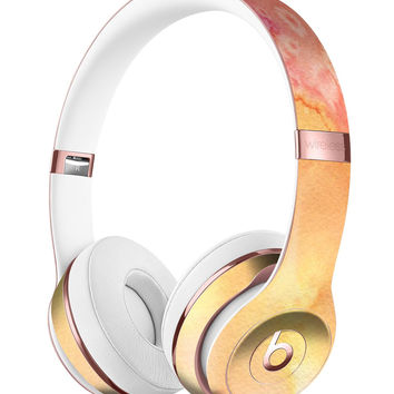 Pinkish 423971 Absorbed Watercolor Texture Full-Body Skin Kit for the Beats by Dre Solo 3 Wireless Headphones