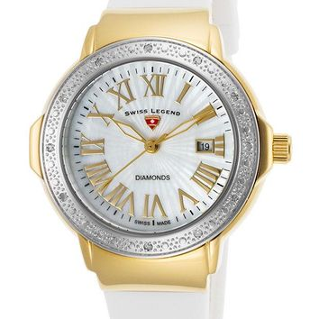 Swiss Legend South Beach Ladies Watch 20032DSM-YG-02-SB-WHT