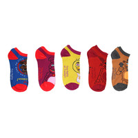Five Nights At Freddy's Mix & Match Ankle Socks 5 Pair