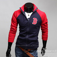 Boston Red Sox Baseball Zip Sweat