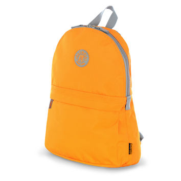 """Academy"" 17"" Eco-Friendly Backpack In Marigold"
