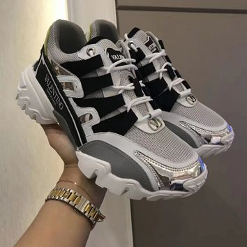 VALENTINO  Women's Men 2020 New Fashion Casual Shoes Sneaker Sport Running Shoes
