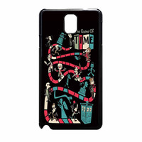 The Game Of Time Tardis Doctor Who Game Samsung Galaxy Note 3 Case