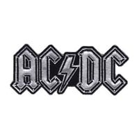 AC/DC Men's Logo Embroidered Patch Grey