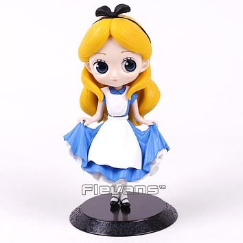 Alice Q Posket Characters Alice Alice in Wonderland PVC Figure Collectible Model Toy Doll 15cm
