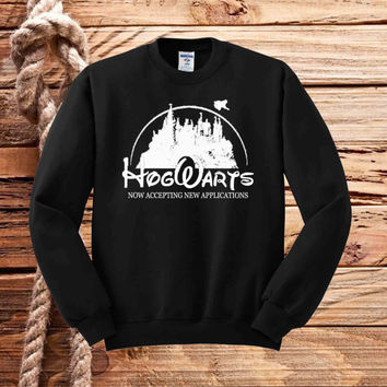 Harry Potter Funny Hogwarts Now Accepting sweater unisex adults