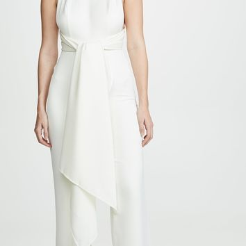 Jasmine Open Back Wide Leg Jumpsuit