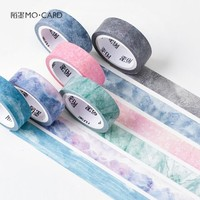 1.5cm*7m Natural Sky Color Decorative Washi Tape DIY Scrapbooking Masking Tape School Office Supply