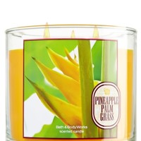 14.5 oz. 3-Wick Candle Pineapple Palm Grass
