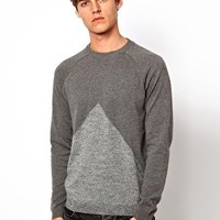 ASOS Triangle Jumper at asos.com