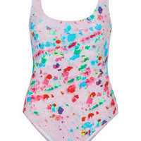 Petite Tie Dye Swimsuit - New In This Week  - New In