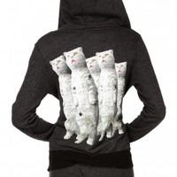 ZOMBIE CATS TRACK SUIT JACKET