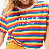 Rainbow Stripe T-Shirt | PacSun