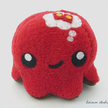 Octopus Plush - The Thoughtful Tako *Lucky Red Envelopes*