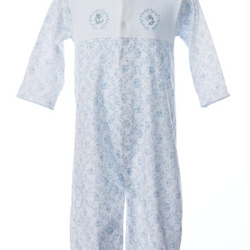 Baby Threads Boys Toile Convertible Gown