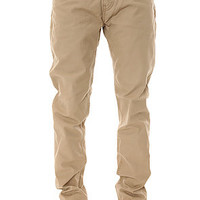 Levis The 508 True Chino in Khaki