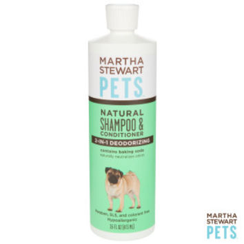 Martha Stewart Pets® 2 in 1 Deodorizing Dog Shampoo & Conditioner