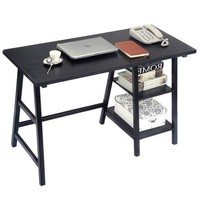 Black Home Office Laptop Computer Desk Writing Table