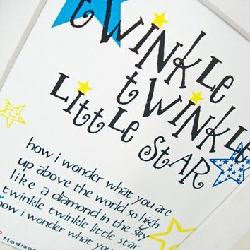 Personalized Children's Nursery Rhyme by TheStationerySisters