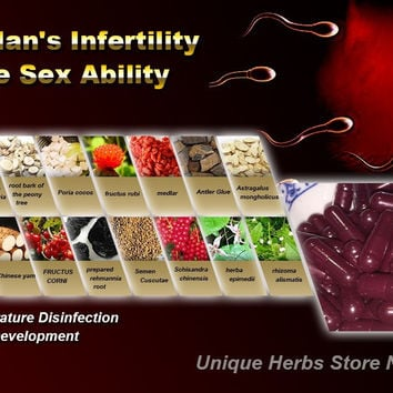 Natural Herbal Increase Sperm Generation,Promote Sperm Quantity and Activity,Enhance Male Performance,Stop Kidney deficiency men