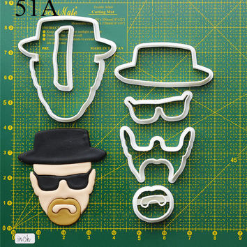 Breaking bad Cookie Cutter breaking bad bracelet,breaking bad cutting board,breaking bad card,breaking bad candy, 51A