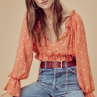 Analisa Polka Dot Blouse – For Love & Lemons