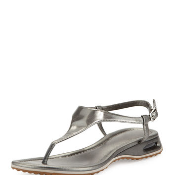 Air Bria Patent Thong Sandal, Gunsmoke - Cole Haan - Gunsmoke